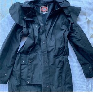 Australian Outback Collection Black mens M duster
